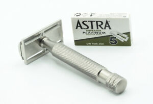 Above The Tie Classic Atlas Safety Razor - R Head - Regular/Medium - Excellent!