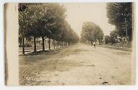 RPPC Main Street South NAPLES NY Finger Lakes Ontario County Real Photo Postcard