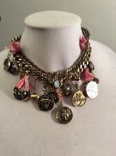 Betsey Johnson CAMEO CRITTERS Shakey Statement Necklace $125 BO5