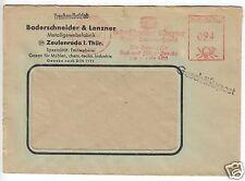 AFS, Bader SCHNEIDER & lenzer, Métal-Tissus-Usine, O Zeulenroda, 5.1.52