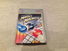MARBLE MADNESS - PAL ESPAÑA - NES -COMPLETE - LIKE NEW -100% ORIGINAL -VERY RARE