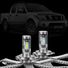 Nissan Navara D22 D40 2004 - 2015 LED Headlight Conversion Kit LLA Vanquish