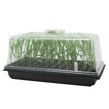 """10"""" x 20"""" Seedling Starter Propagation Cloning Tray W/ Tall 7"""" Dome Vent Control"""