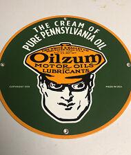 New ListingVintage Porcelain Oilzum Pennsylvania Oil Gas And Oil Sign