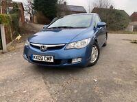 Honda Civic ES IMA Automatic Hybrid full service history £10 tax for the year