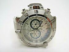 Invicta Men's Subaqua Noma III 1384 Watch Chronograph White Silver Swiss Made