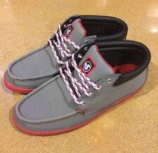 DVS Hunt Grey Gunny Size 12 SB DC Skate Deck Boat Shoes $78 Box Price