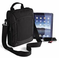 Quadra Executive iPad Case Bag Tablet Notebook Holder Multiple Pockets (QD264)