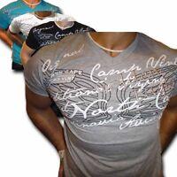 Polo Herren T-Shirt Kurzarm Hoodie Grau Schwarz Weiss Sweatshirt  M L XL XXL NEU