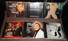 Selection Of 6 Barry Manilow CD Albums