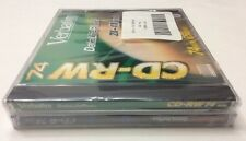 Verbatim CD-RW CD-R DataLifePlus High Speed 4x  10x 74 Min 650 MB New 2 Premium