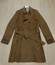 Richard James Suede Trench Coat L 42 BNWT £2,125
