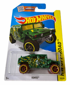 Hot Wheels Humvee - HW Offroad - Long card - Combined Postage Available