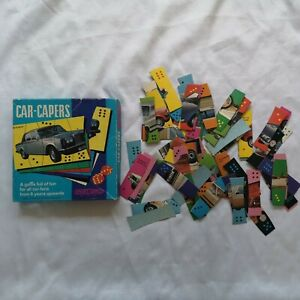 CAR Capers Vintage Car Game With Instructions NO DICE Spears Games 6 yrs +