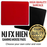 Artisan Gaming Mouse Pads Ninja FX Hien Red Black Soft Mid S M L XL Official New