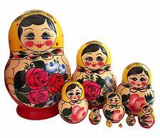 Poupée Russe 10 pièces cadeau collection, Poupée Russe Matriochka - SEMENOVO