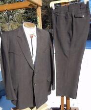Vintage Early 1960s Western Wool Suit 46R 40x29 - Alterable Gross Original Denv.