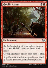 MTG 2x GOBLIN ASSAULT - ASSALTO GOBLIN - MMA3 - MAGIC