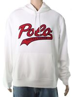 Polo Ralph Lauren Mens Hoodie White Size XL Graphic Logo Pullover $148- 283