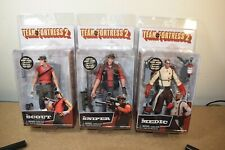 Neca TEAM FORTRESS 2 SERIES 4 Set of 3 Action Figures Red The Scout Medic Sniper