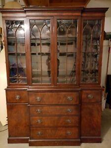 Rare Stiehl Furniture Mahogany Bookcase