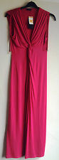 BNWT New Marks Spencer M&S Autograph Red Long Sleeveless Maxi Dress Size 10 EU38