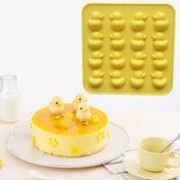 3D DIY Nette Ente Form Silikon Schokoladenform Backformen Kuchen Werkzeuge