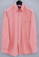 Men Gant Casual Shirt Washer GinghamCheck Cotton M MEA790