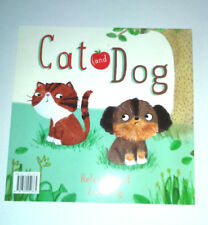 CAT & DOG Kids Story Book GREAT PICTURES Friendship Acceptance BEDTIME READ GIFT