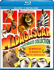 Madagascar The Ultimate Collection Blu-ray  NEW