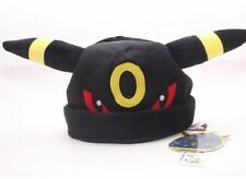 New Pokemon Plush Umbreon Hat Soft Warm Cap Hat