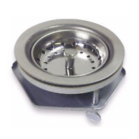 Commercial Grade Stainless Steel Sink Strainer With Easy Install Screws