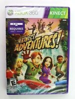 Kinect Adventures (Microsoft Xbox 360, 2010) - Brand New & Factory Sealed