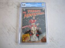Strange Adventures #9 CGC 2.5, 1951 1st app. Capt. Comet