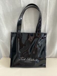 TED BAKER Black Plastic Small Tote Bag