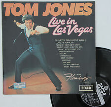 "Vinyle 33T Tom Jones ""Live in Las Vegas"""