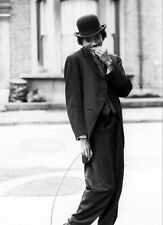 MICHAEL JACKSON UNSIGNED PHOTO - L4111 - AS CHARLIE CHAPLIN