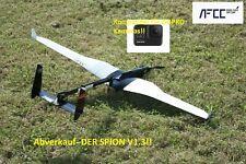 Drohne, silent UAV drone- DER SPION V1.3 CARBON GOPRO HERO 7, 8 compatible NEW !
