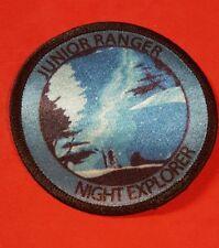National Park Service Junior Ranger night Explorer patch
