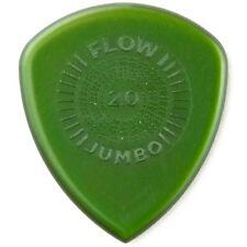 Dunlop 547P20 Flow Jumbo Grip Electric Guitar Picks, 2.0mm, 3-Pack