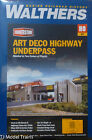 Walthers HO #933-3190 Highway Underpass (Kit form)