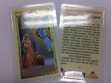 HOLY PRAYER CARDS FOR THE ARCHANGEL GABRIEL SET OF 2 IN ENGLISH FREE SHIP!