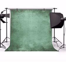 Retro Green Vintage Green Gradient 8x8ft Photography Backgrounds Vinyl Backdrops