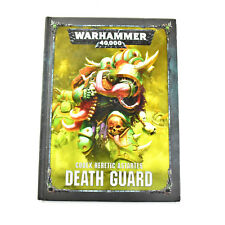 DEATH GUARD Codex Heretic astartes Warhammer 40K army book hardcover