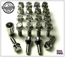 20 x ALLOY WHEEL BOLTS & LOCKS FOR VW TRANSPORTER T4 T5 M14x1.5 LUG NUTS