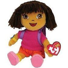 """TY  Beanie Buddy Dora 10"""" Plush, NEW"""