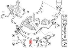 Genuine BMW E83N SUV Expansion Power Steering Hose OEM 32413450597