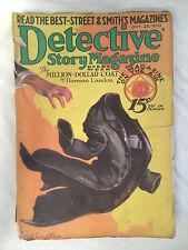 Detective Story Magazine - Oct 25th 1930 - Edgar Wallace, Herman Landon