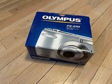 Olympus FE FE-210 7.1MP Digital Camera - Silver