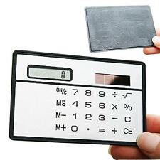 1 pc Stationery School Student Function ultra thin Calculator solar Powered MT